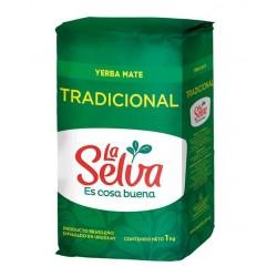 Yerba mate La selva tradicional 1k