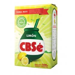 Yerba Mate CBSé LIMON 1/2 kg