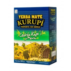 Yerba Mate KURUPI, CEDRON,...