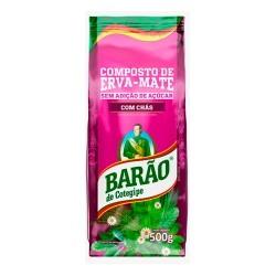 Yerba Mate Barão C/HIERBAS...